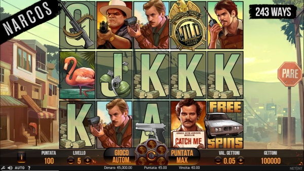 Narcos - slot machine