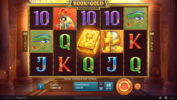 Book of Gold slot machine